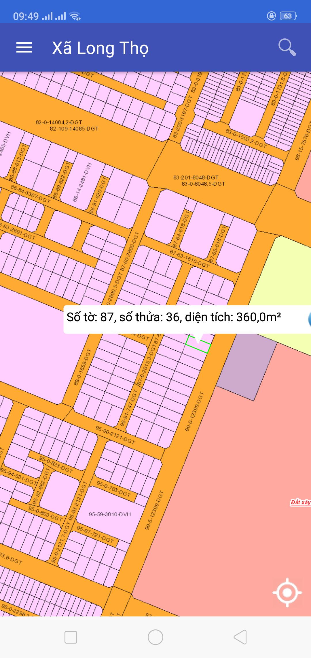Càn Bán Đất Nền Hud Biệt Thự Vườn - Địa ốc Thuận Lộc