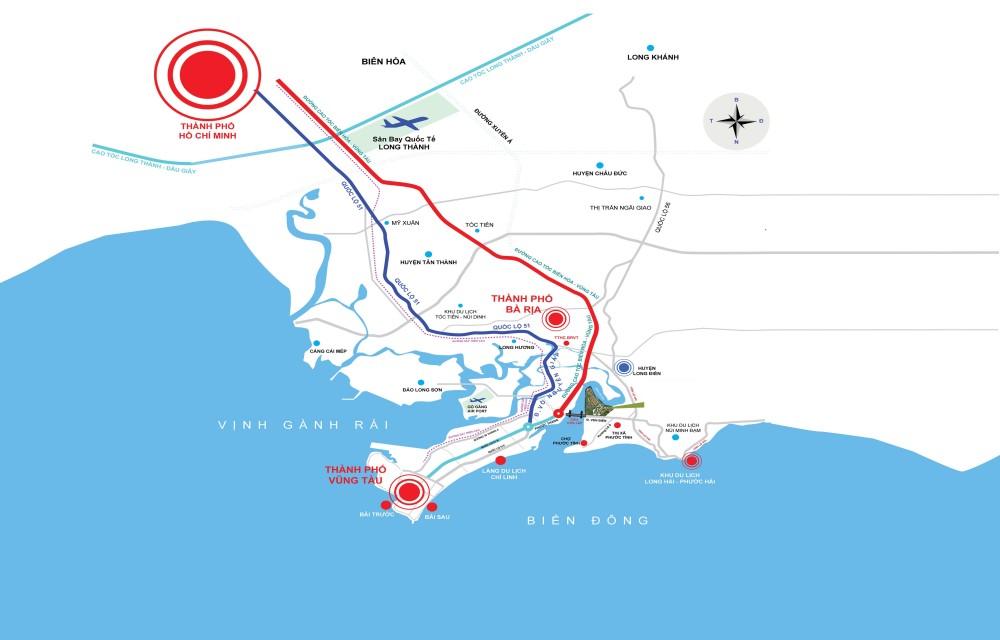 đường cao tốc Biên Hoà - Vũng Tàu
