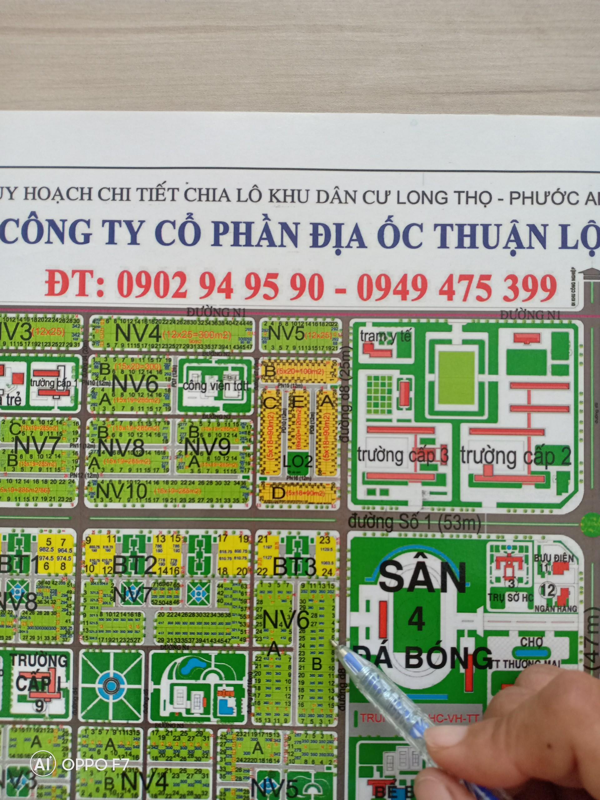 Bán đất biệt thự vườn HUD Phước An - Long Thọ, 100% sổ hồng, giá tốt nhất - Địa ốc Thuận Lộc
