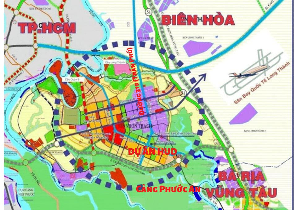 Kết nối giao thông khu đô thị Nhơn Trạch